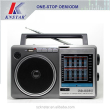 All band radio receiver with USB SD card music player