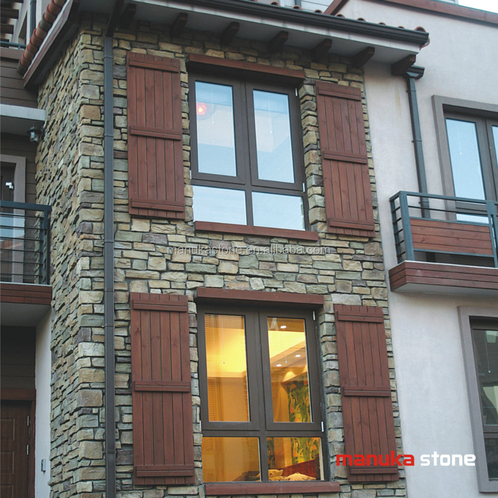 China Artificial Stone Faux Exterior And Interior Culture Wall ...