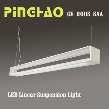 3 Years Warranty Office T5 Hanging Fluorescent Light Fixtures Suspension Lamp Lights