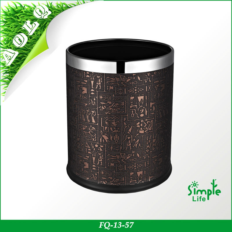 Decorative waste papaer baskets/rubbish collector