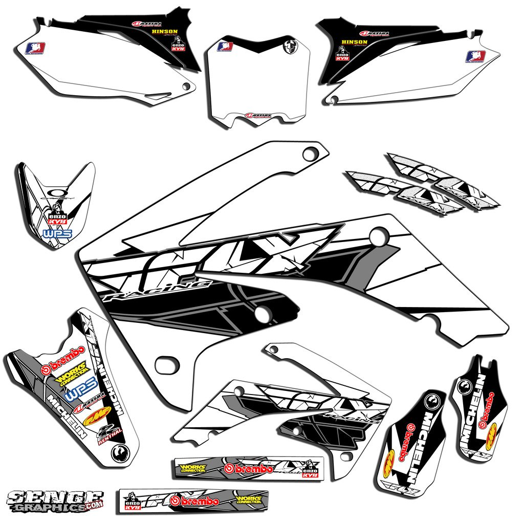 cheap 2007 graphics find 2007 graphics deals on line at alibaba Yamaha TTR 125 get quotations senge graphics 2007 2017 honda crf 150r fly racing white graphics kit