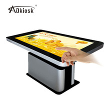 43 55 65 86 inch lcd ingebouwde pc <span class=keywords><strong>monitor</strong></span> touch screen interactieve salontafel