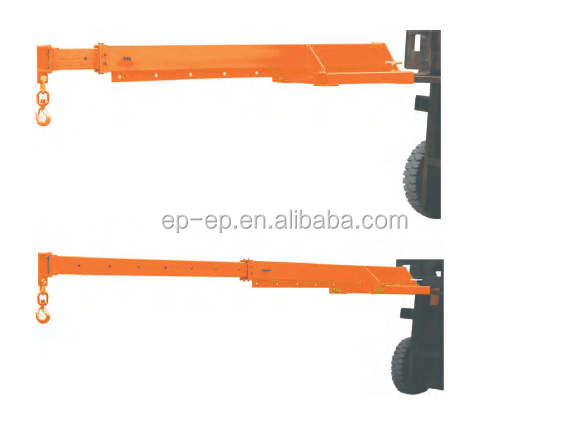 China hot sale Telescopic Fork Mounted Jibs TLB6430