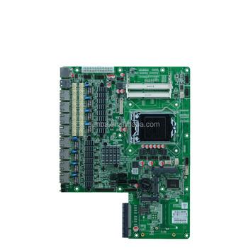 Pfsense Network Gateway / Core I3/i5/i7 8 Lan Card Firewall Motherboard  With Sfp 4 Ports - Buy 8 Lan Card Motherboard,Firewall Motherboard With