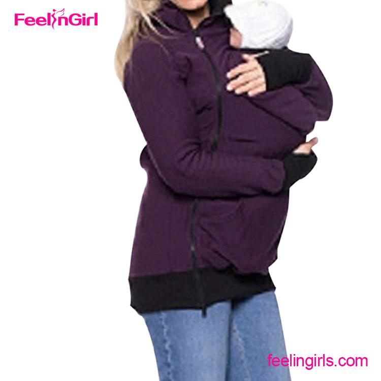 chaude enceinte m re veste d 39 hiver pull fabricants porte b b capuche hoodies sweatshirts. Black Bedroom Furniture Sets. Home Design Ideas