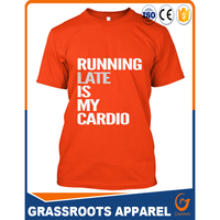 Online shopping india cheap Custom printing fitted plain t shirts for men