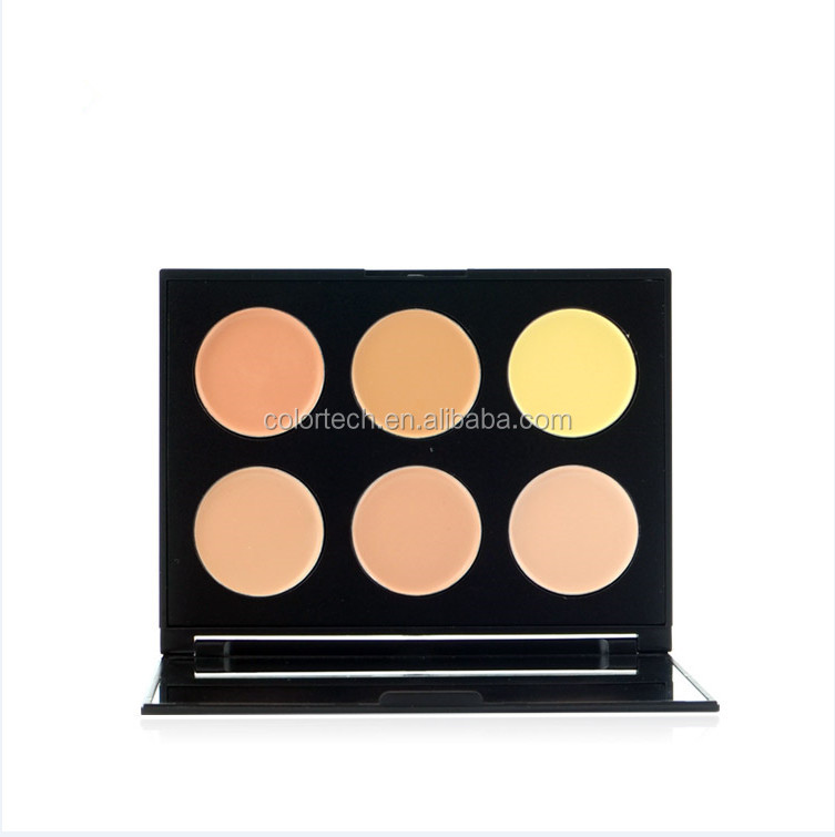 make up contour makeup palette brand name concealer palette with 6colors