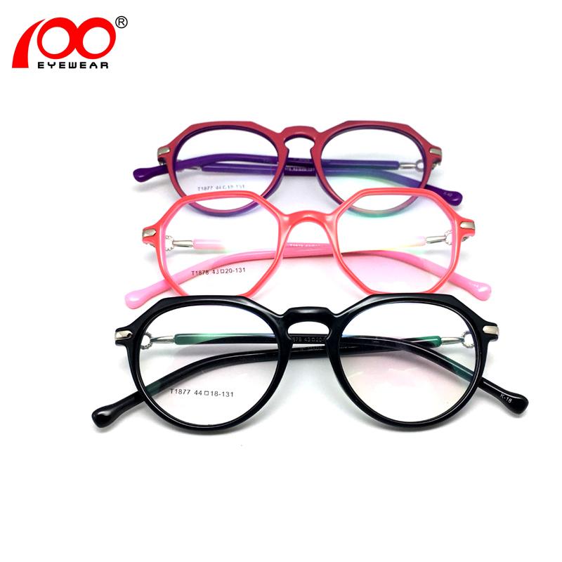 bf60ff834b Anteojos nuevo modelo de marco óptico últimas gafas armadura para las niñas