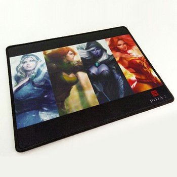 New game theme rubber mouse pad playing card game mat rubber game mouse pad with speed control