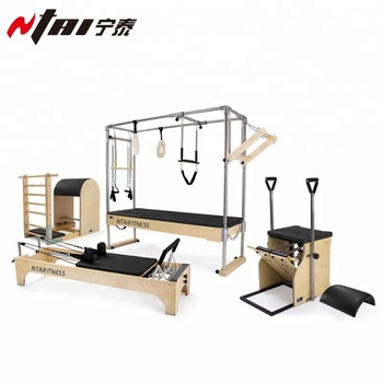 Direct Factory High Quality Wooden Made Cadillac Pilates Trapeze Table Pilates Cadillac Reformer