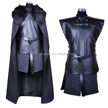 Ecoparty Game Of Thrones Cosplay Kostüm Jon Snow Cosplay Ritter