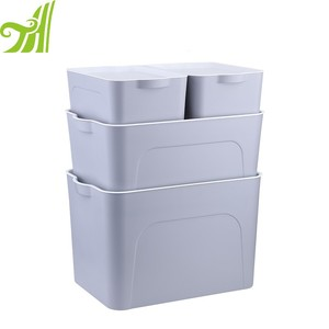 Stackable Moving Plastic Box Industrial Moving Totes
