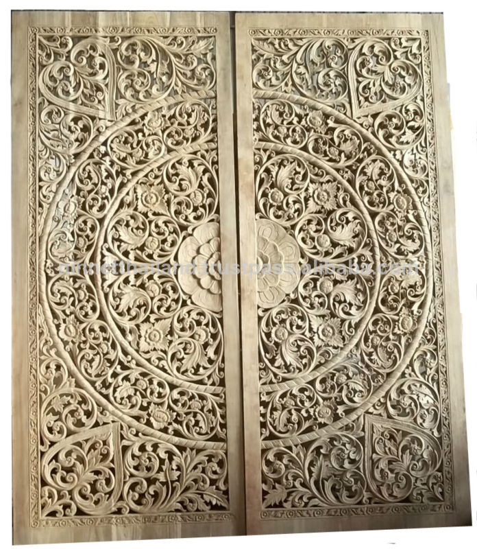 Tallado de madera de la pared de paneles arte y coleccionables identificaci n del producto - Paneles decorativos madera tallada ...