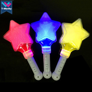 Custom Star LED Stick Japanese Star Shape Light Stick For Concert Event