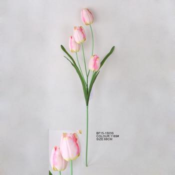 Artificial Fabric Single Tulip Flower Wholesale  Buy Artificial Flower Mini Tulip,Decorative