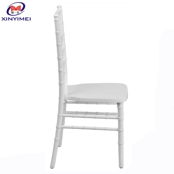 XYM Furniture Low Price Stackable Wedding Wood Chiavari Chair