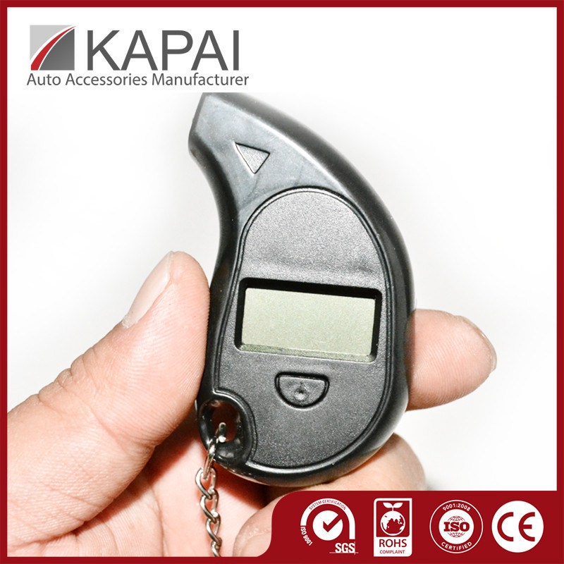 Supreme Quality Digital Psi Tire Air Pressures Gauges Keychain
