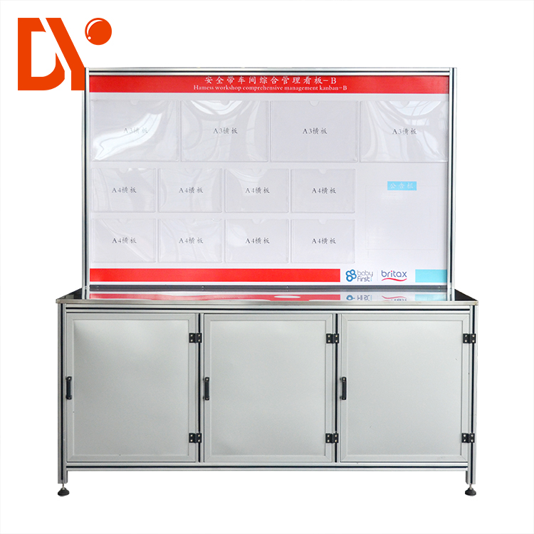 DY91 Industrial Aluminum Profile Work Table Applied in Workshop High quality factory direct selling