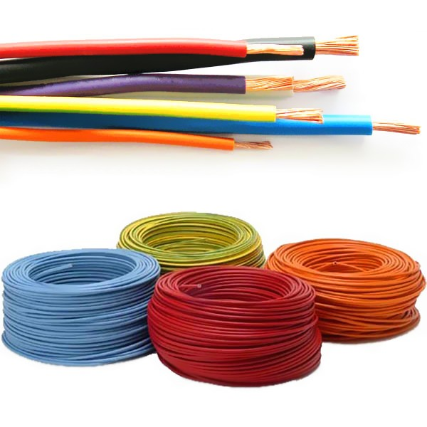 Single Core Stranded Electric Wire Cable Copper Electrical Wire Size ...