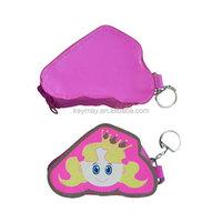 Mini Fish /Princess Face Purse Coin Bag Zipper Wallets