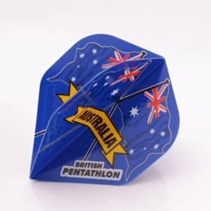 3 x SETS PENTATHLON Darts Flights Australia Standard