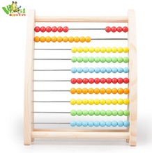 Counting Math Wooden toys Educational for Kid Child