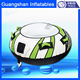Exciting water game custom water floating towable tube