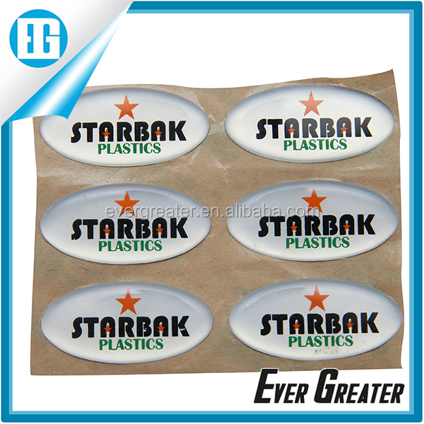 Customized dome labelraised 3d sticker customized pu resin stickers custom 3d dome sticker