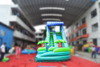 Commercial plam tree inflatable water slide pool, used inflatable water slide for sale