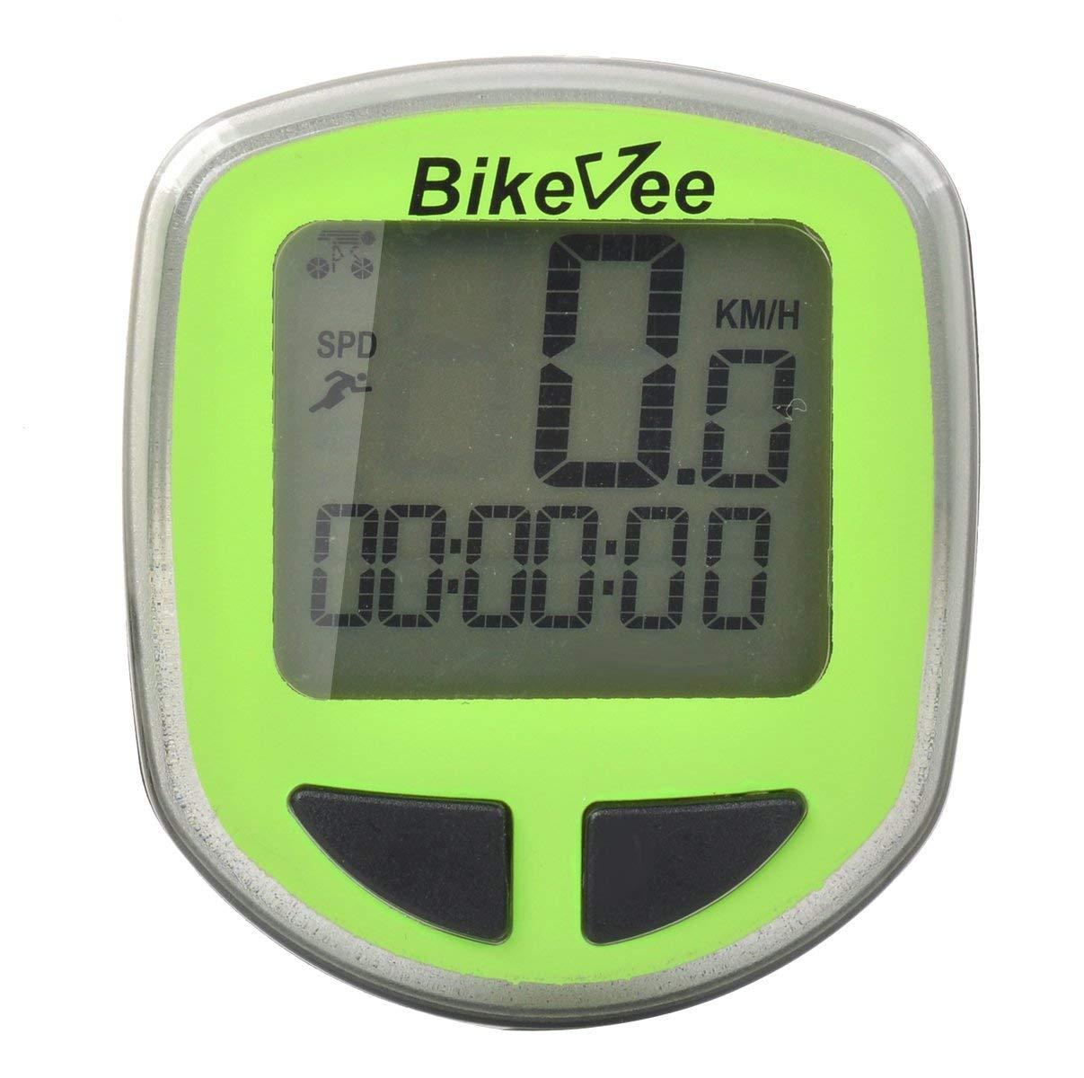 OLSUS Stopwatch - Green Multifunctional Display Bicycle Stopwatch