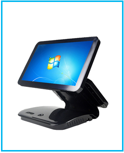 Free shipping 12 inch pos system touch cash register all in one pc cheapest POS PC