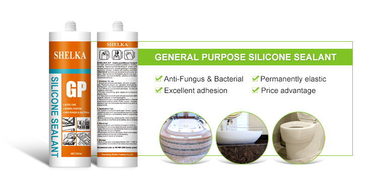 General Purpose construction silicone sealant for caulking