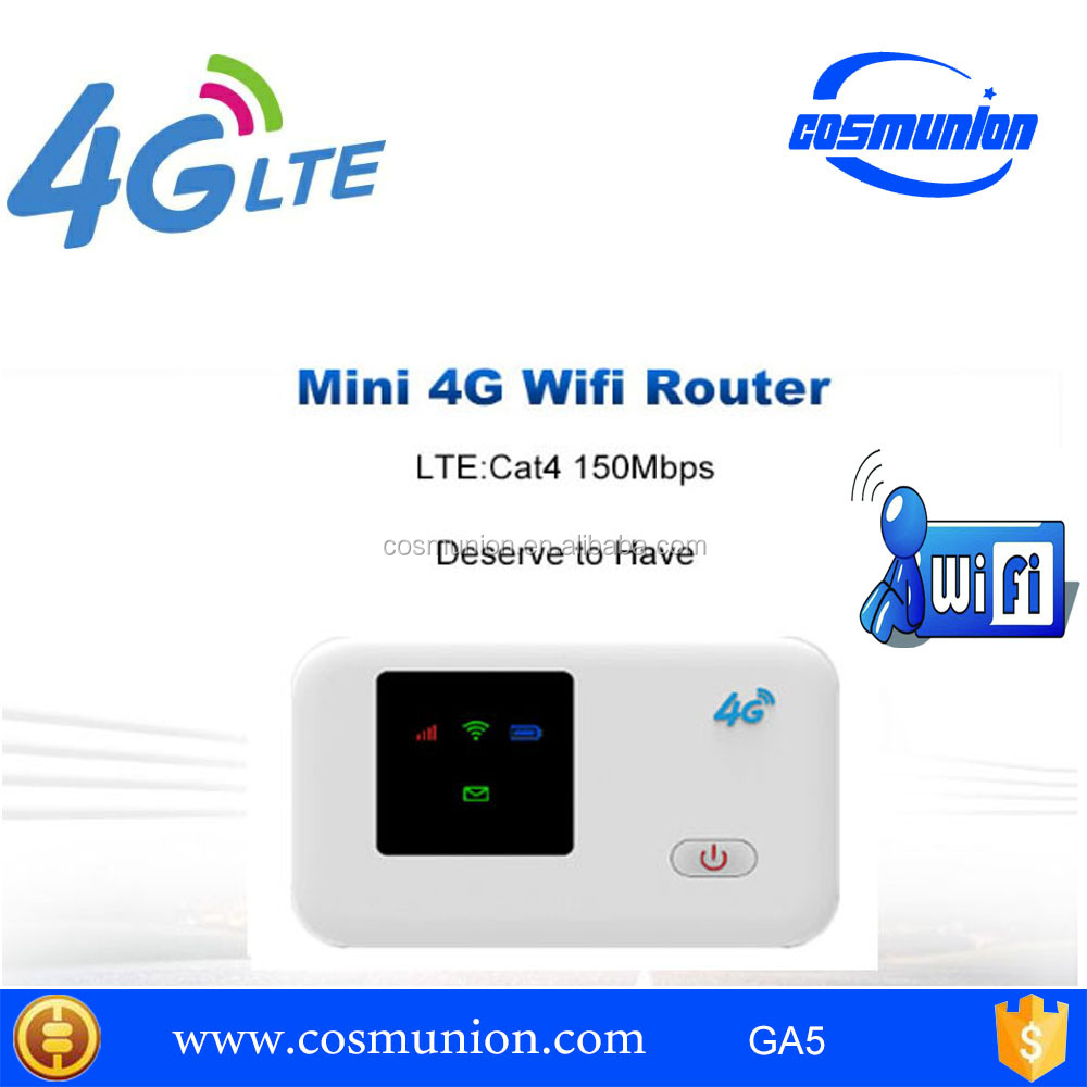 good quality low cost unlock wifi hotspot lte 4g wifi router
