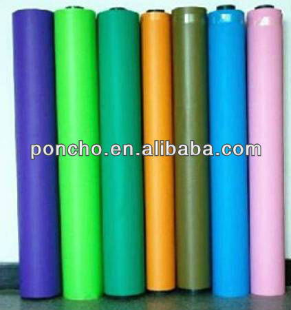 decorative pvc film manufacturer plastic roll for table