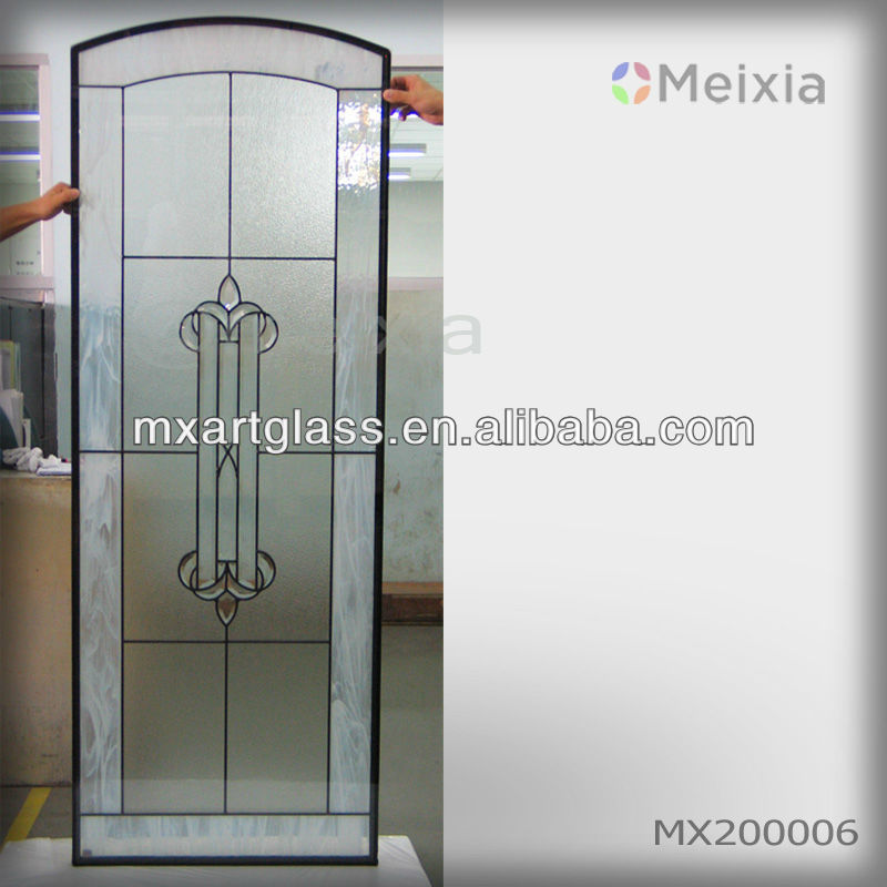 Mx200006 China Wholesale Customized Interior Stained Glass Sliding