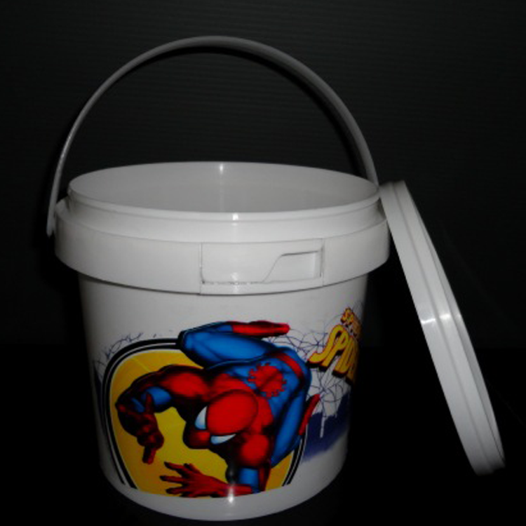 Hot sale 2 litre cheap plastic water bucket with tap