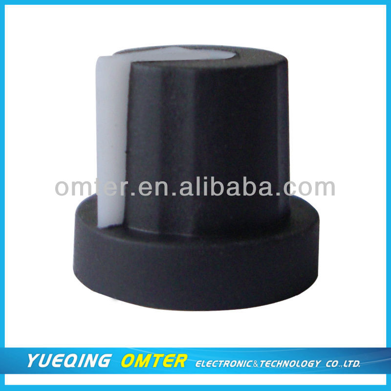 rubber potentiometer knobs