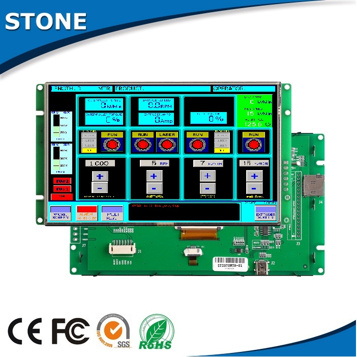 "lcd advertising screen 10.1"" digital tft lcd module active matrix tft color lcd"