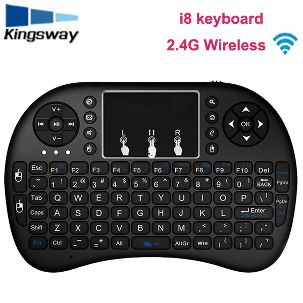 umelody 2.4GHz Wireless Mini Keyboard 3 Colors Mini i8 pro Wireless Touchpad Keyboard fly Air Mouse