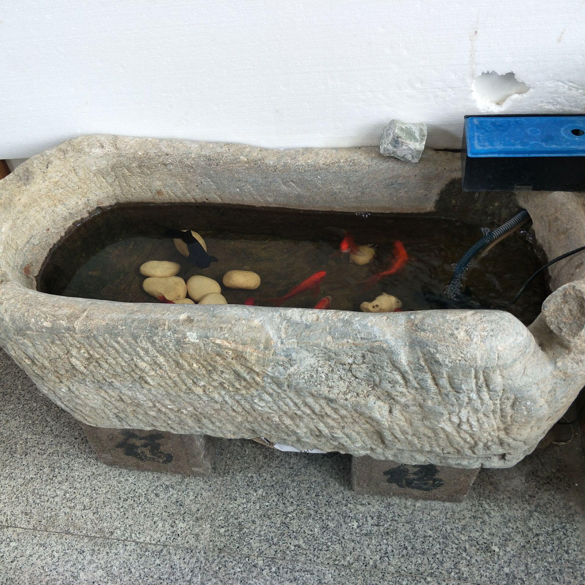 Antiken Stein Garten Trog Pflanzer Anlage Töpfe Für Indoor Outdoor  Dekoration