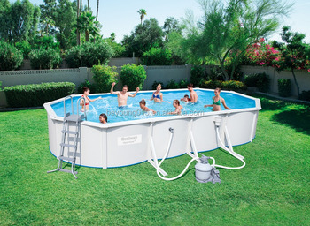 20 Ftx12ftx48 In Steel Wall Pool Rectangularsteel Above Ground