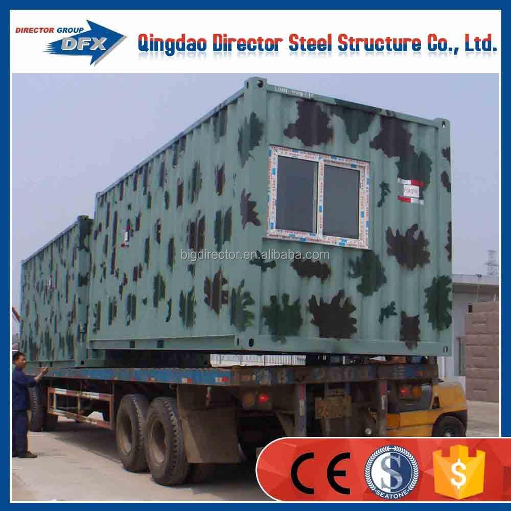De acero casa prefabricada contenedor casa casas prefabricadas identificaci n del producto - Shipping container homes el tiemblo spain ...