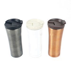 High quality 16 oz stainless steel thermo coffee cup with sealed lid
