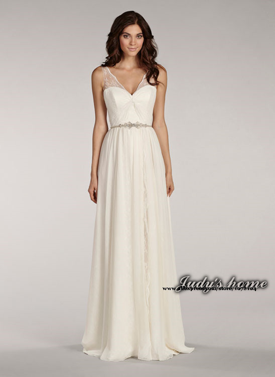 Ivory Casual Wedding Dresses 84