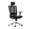 Modern Office Commercial Furniture Swivel Lift Manager Mesh and Fabric Chair