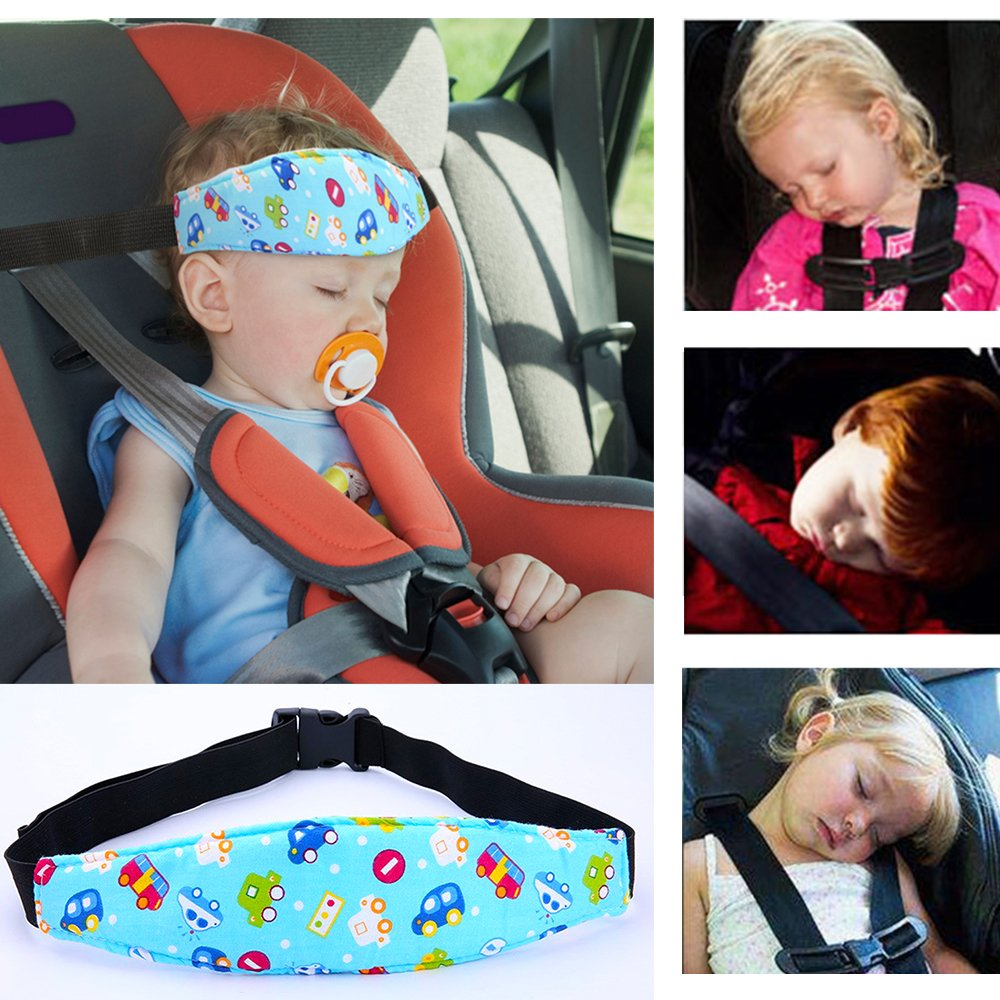 dc65984157e Get Quotations · Baby Kids Car Seat Neck Relief Head Support Band Safety  Seat Comfortable Fastening Belt Toddler Infants
