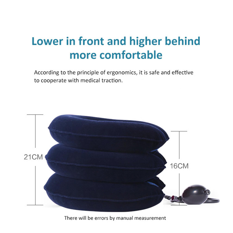 3 Layers Customized Reduce Shoulder Pain  Apparatus Device Air Neck Cervical Traction