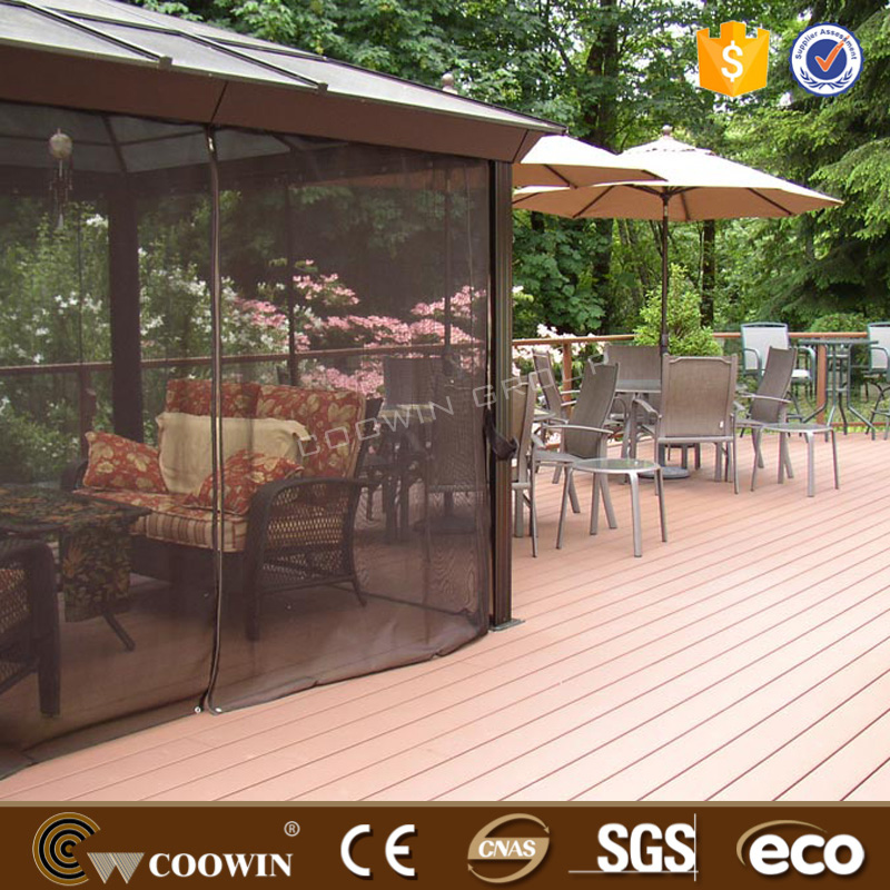 2016 Coowin merbau composite laminate wood decking