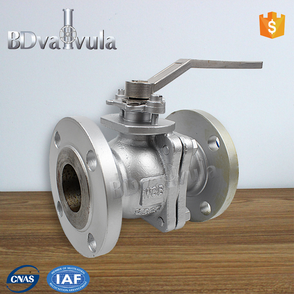 API WCB flange type ball vavle PN25 DN300 high pressure ball valve