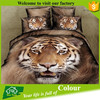 3d animal print fabric colorful bedding sets